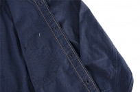 Seuvas Workshirt - Double Indigo Chambray - Image 11