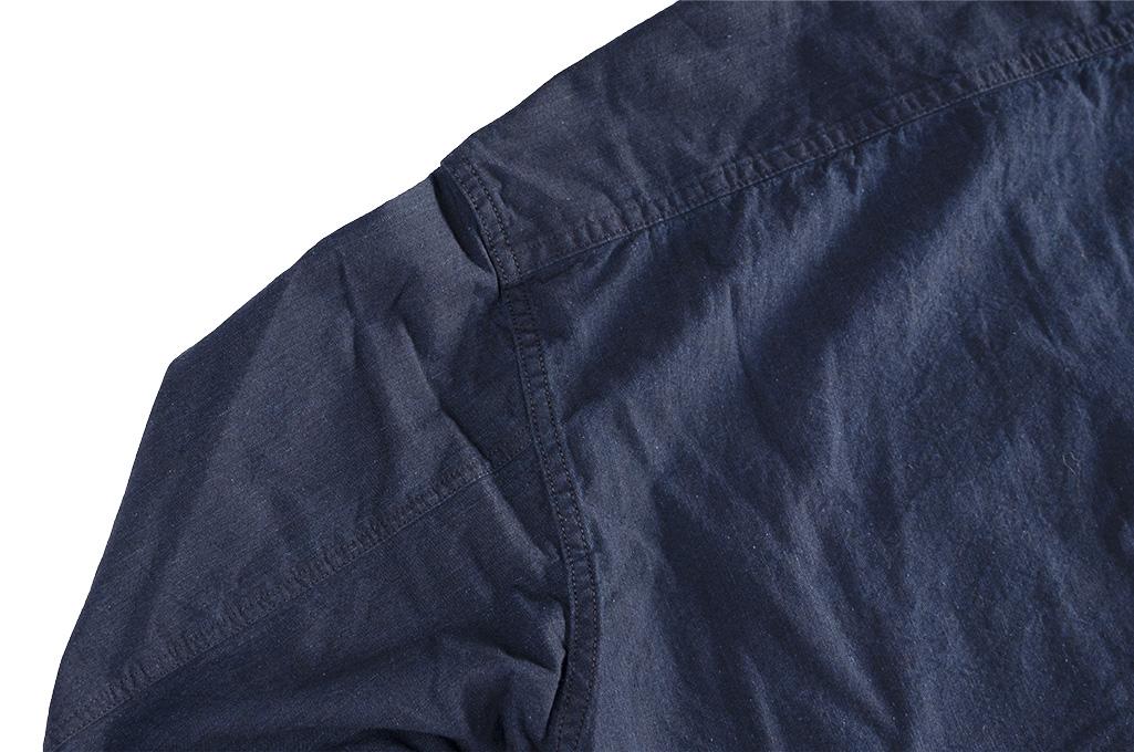 Seuvas Workshirt - Double Indigo Chambray - Image 13