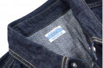 Flat Head NEXT Edition Western Shirt - 10oz Indigo Denim - Image 8