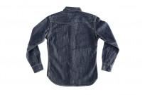 Flat Head NEXT Edition Western Shirt - 10oz Indigo Denim - Image 15