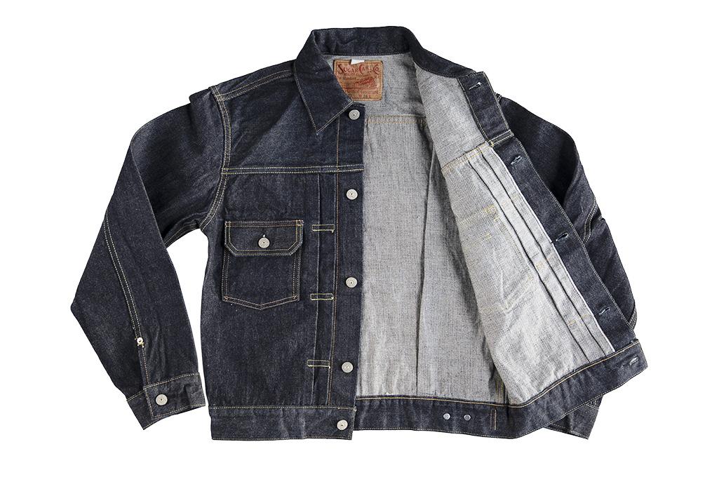 Sugar_Cane_1953_Type_II_Raw_Denim_Jacket