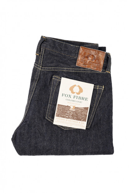 Studio D'Artisan Fox Cotton Fiber Jeans - Straight Tapered