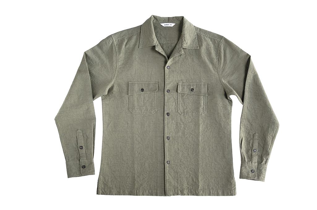 3sixteen_Camp_Shirt_Olive_Jacquard-02-10