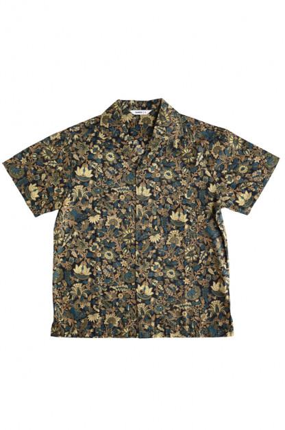 3sixteen Leisure Shirt - Black Floral