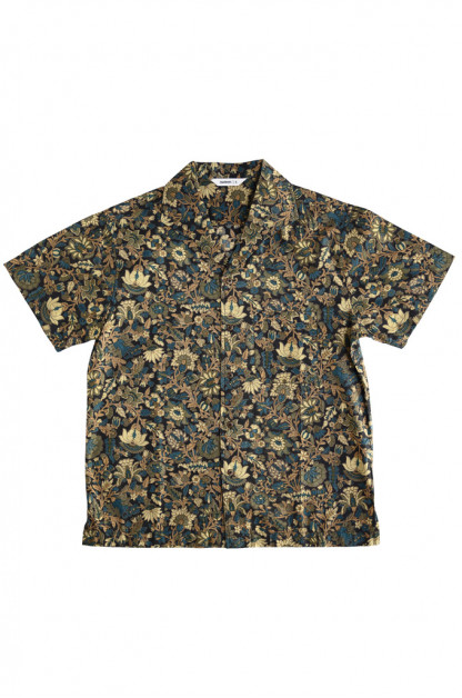 3sixteen Leisure Shirt - Black Floral