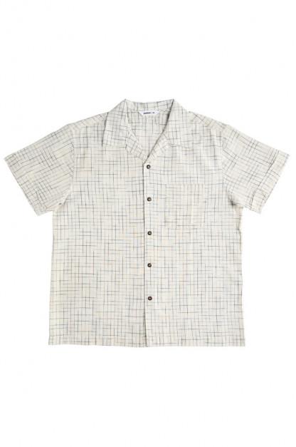 3sixteen Vacation Shirt - Handloom Crosshatch