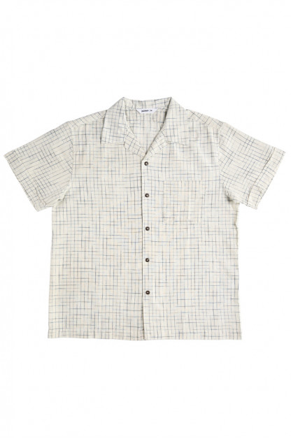 3sixteen Vacation Shirt - Handloom Crosshatch