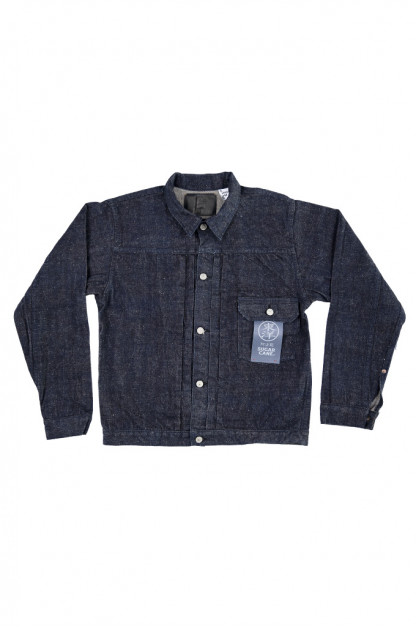 Sugar Cane AWA-AI Natural Indigo Sugar Cane Fiber Denim - Type I Jacket