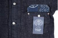 Sugar Cane AWA-AI Natural Indigo Sugar Cane Fiber Denim - Type I Jacket - Image 10