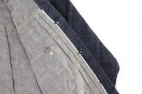 Sugar Cane AWA-AI Natural Indigo Sugar Cane Fiber Denim - Type I Jacket - Image 17