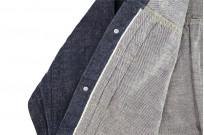 Sugar Cane AWA-AI Natural Indigo Sugar Cane Fiber Denim - Type I Jacket - Image 19