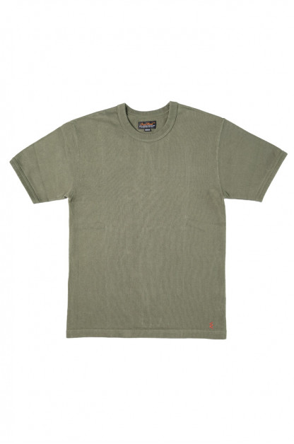 Iron Heart Super Duper Heavy 11oz T-Shirt - Olive