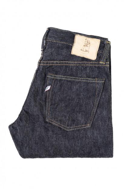 Pure Blue Japan EX-013 17.5oz Extra Slub Denim Jeans - Slim Tapered
