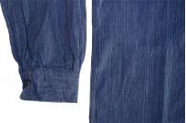 Sugar Cane AWA-AI Sugar Cane Fiber Blend Indigo Shirt - Navy - Image 12