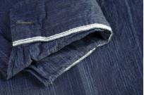 Sugar Cane AWA-AI Sugar Cane Fiber Blend Indigo Shirt - Navy - Image 13