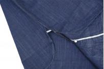 Sugar Cane AWA-AI Sugar Cane Fiber Blend Indigo Shirt - Navy - Image 14