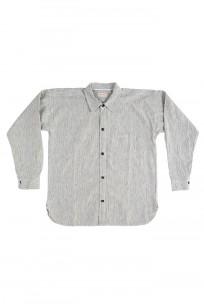 Sugar Cane AWA-AI Sugar Cane Fiber Blend Indigo Shirt - Off-White - Image 6