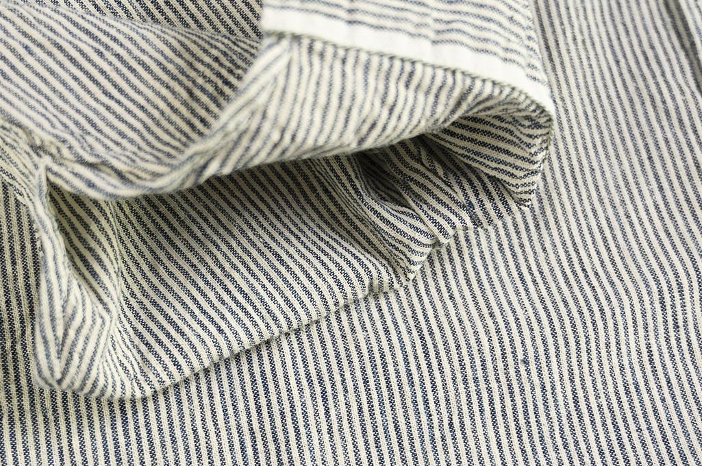 Sugar Cane AWA-AI Sugar Cane Fiber Blend Indigo Shirt - Off-White - Image 13