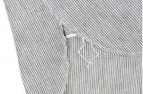 Sugar Cane AWA-AI Sugar Cane Fiber Blend Indigo Shirt - Off-White - Image 14