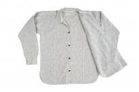 Sugar Cane AWA-AI Sugar Cane Fiber Blend Indigo Shirt - Off-White - Image 15