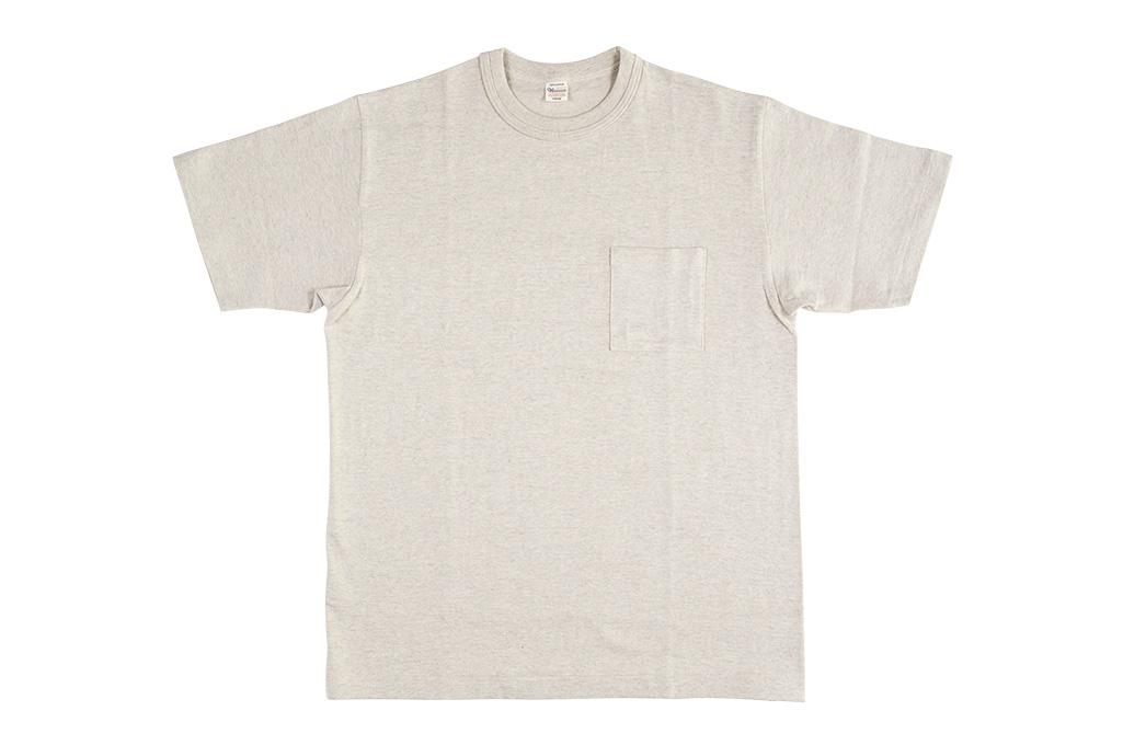 Warehouse_Slub_Cotton_T-Shirt_Oatmeal_Po