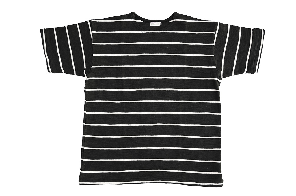 Warehouse_Slub_Cotton_T-Shirt_Striped_Su