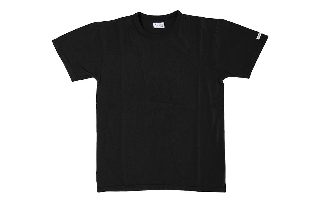 Flat_Head_Loopwheeled_Blank_T-Shirt_Blac