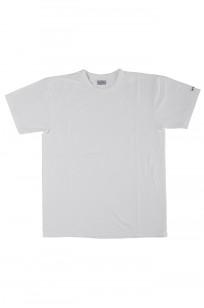 Flat Head Loopwheeled Blank T-Shirt - White - Image 0
