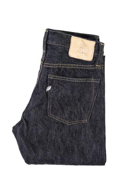 Pure Blue Japan EX-019 17.5oz Extra Slub Denim Jeans - Straight Tapered