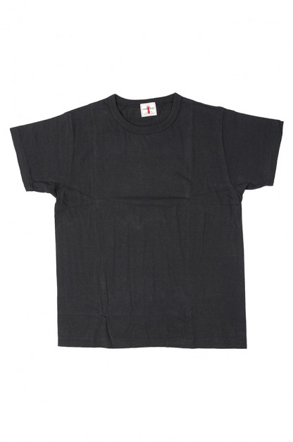 Samurai Blank T-Shirt 2-Pack - Medium Weight Black