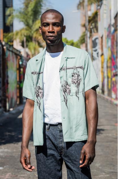 Star of Hollywood High Density Rayon Shirt - Shrunken Head