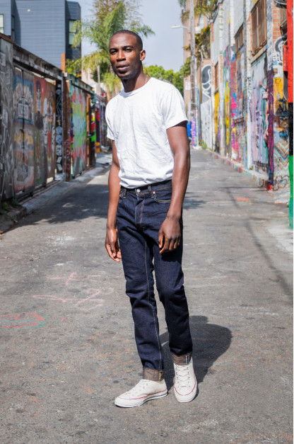 Pure Blue Japan OG-019 14oz Organic Recycled Cotton Jeans - Straight Tapered