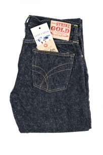 "Strike Gold ""Keep Earth"" Natural Indigo Jeans / 0103KE - Straight Leg - Image 4"
