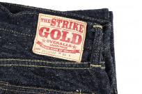 "Strike Gold ""Keep Earth"" Natural Indigo Jeans / 0103KE - Straight Leg - Image 6"