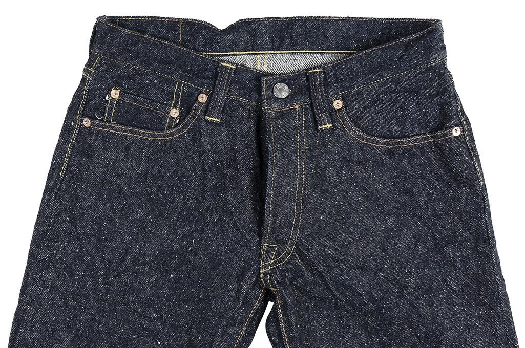 "Strike Gold ""Keep Earth"" Natural Indigo Jeans / 0103KE - Straight Leg - Image 7"