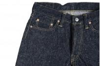 "Strike Gold ""Keep Earth"" Natural Indigo Jeans / 0103KE - Straight Leg - Image 8"