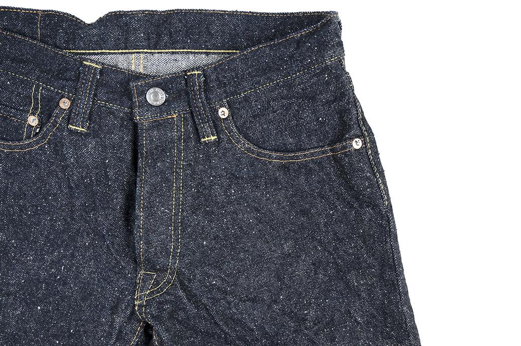 "Strike Gold ""Keep Earth"" Natural Indigo Jeans / 0103KE - Straight Leg - Image 9"