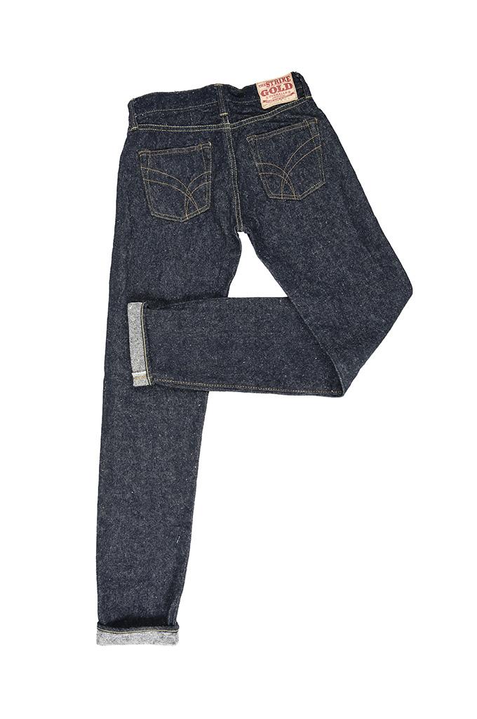 "Strike Gold ""Keep Earth"" Natural Indigo Jeans / 0103KE - Straight Leg - Image 13"