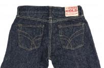 "Strike Gold ""Keep Earth"" Natural Indigo Jeans / 0103KE - Straight Leg - Image 14"