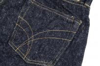 "Strike Gold ""Keep Earth"" Natural Indigo Jeans / 0103KE - Straight Leg - Image 15"