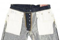 "Strike Gold ""Keep Earth"" Natural Indigo Jeans / 0103KE - Straight Leg - Image 17"