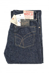 "Strike Gold ""Keep Earth"" Natural Indigo Jeans / 0104KE - Straight Tapered - Image 3"
