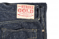 "Strike Gold ""Keep Earth"" Natural Indigo Jeans / 0104KE - Straight Tapered - Image 5"