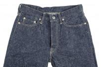 "Strike Gold ""Keep Earth"" Natural Indigo Jeans / 0104KE - Straight Tapered - Image 6"