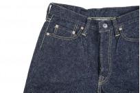 "Strike Gold ""Keep Earth"" Natural Indigo Jeans / 0104KE - Straight Tapered - Image 7"