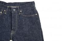 "Strike Gold ""Keep Earth"" Natural Indigo Jeans / 0104KE - Straight Tapered - Image 8"