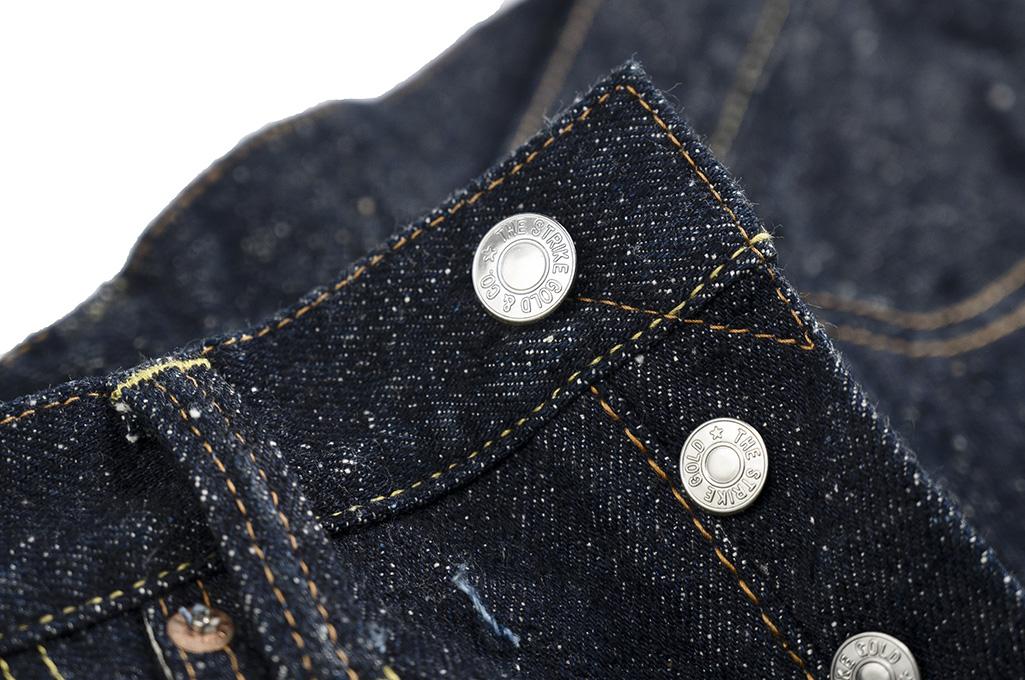 "Strike Gold ""Keep Earth"" Natural Indigo Jeans / 0104KE - Straight Tapered - Image 10"