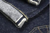 "Strike Gold ""Keep Earth"" Natural Indigo Jeans / 0104KE - Straight Tapered - Image 11"