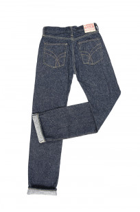 "Strike Gold ""Keep Earth"" Natural Indigo Jeans / 0104KE - Straight Tapered - Image 12"