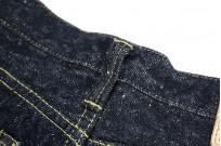 "Strike Gold ""Keep Earth"" Natural Indigo Jeans / 0104KE - Straight Tapered - Image 14"